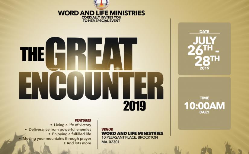 Great Encounter 2019