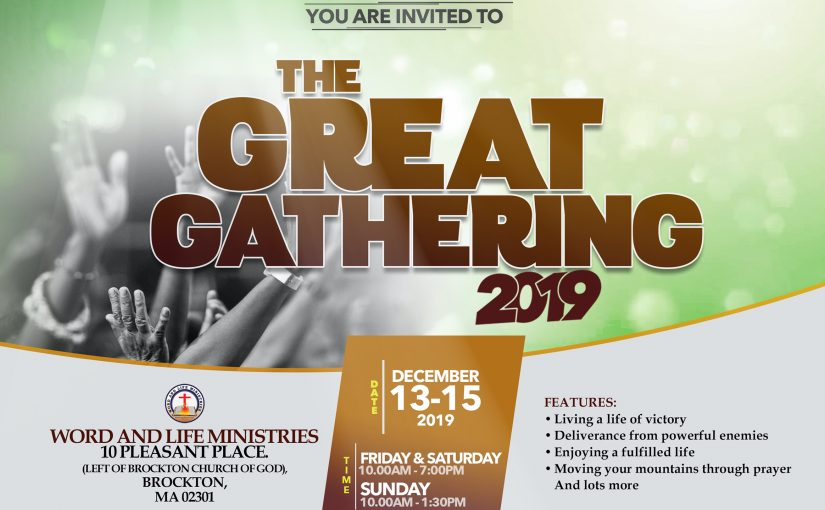 The Great Gathering 2019