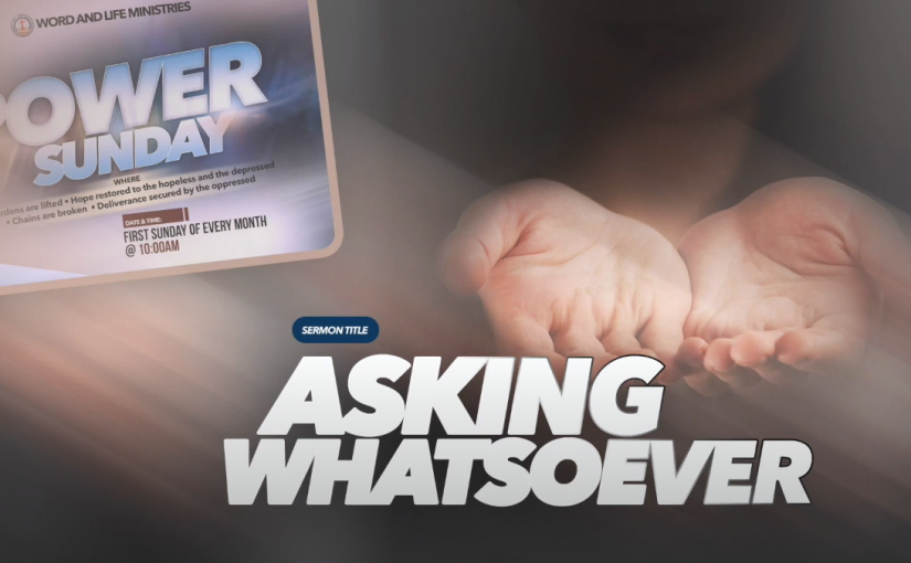 Asking Whatsoever